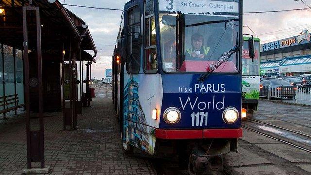У Львові не курсує трамвай №3