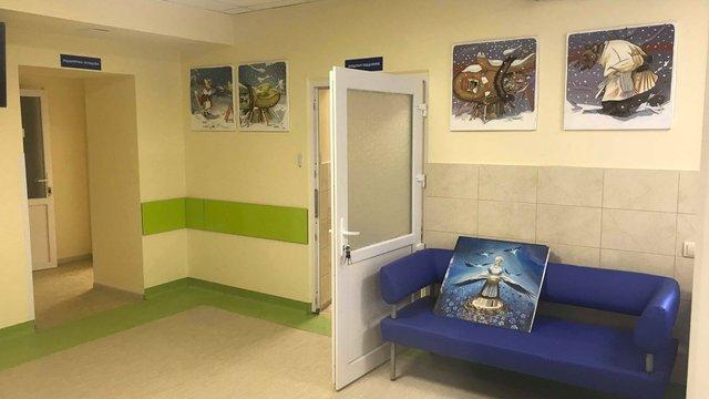 На ремонт приймального відділення львівського ОХМАТДИТу витратили понад 2 млн грн