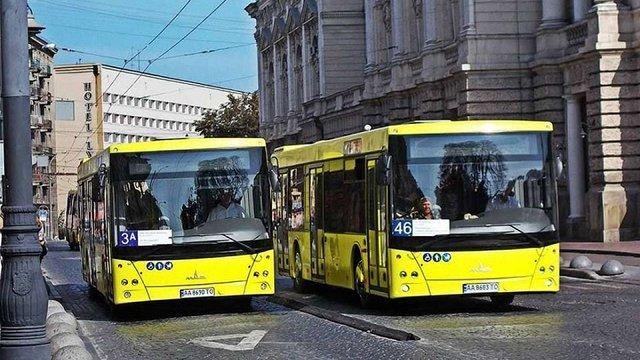На львівських маршрутах працює вже 18 нових білоруських МАЗів