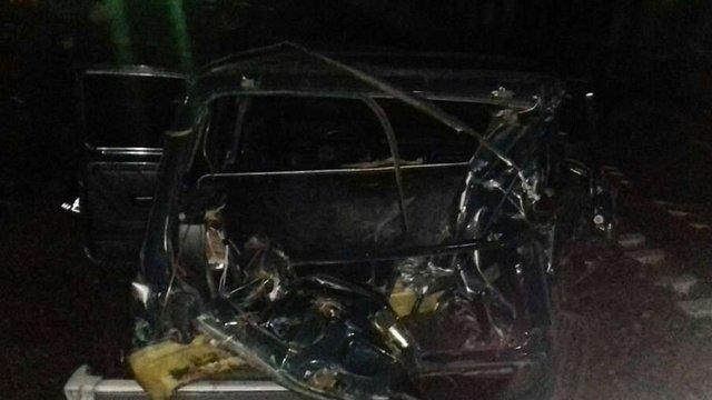 20-річний  мешканець Бродів потрапив у реанімацію після зіткнення свого автомобіля з потягом