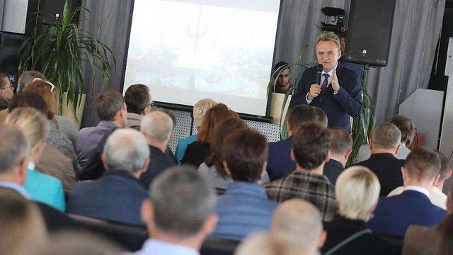 В Олександрії на Кіровоградщині мер Львова розповів про стратегію розвитку міста