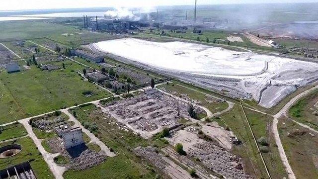 На Херсонщині виявили нелегальний трубопровід, що постачав воду на завод «Титан» в Криму