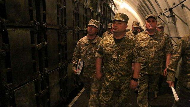 В Україні будують 15 сховищ боєприпасів у вигляді залізобетонних «коконів»
