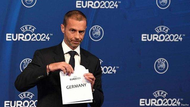 Футбольний чемпіонат Євро-2024 відбудеться в Німеччині