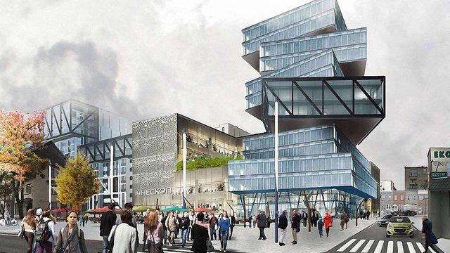 Львівська мерія погодила будівництво оригінального бізнес-центру на місці «Кінескопу»