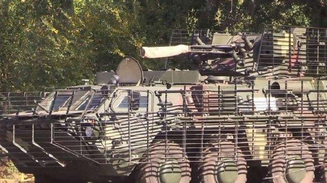 З'явилося відео випробування нового українського БТР «Буцефал»