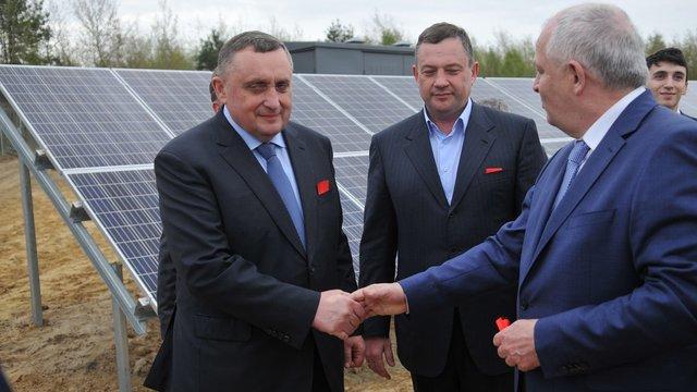 Синютка виділив Дубневичам понад 109 га під сонячні електростанції