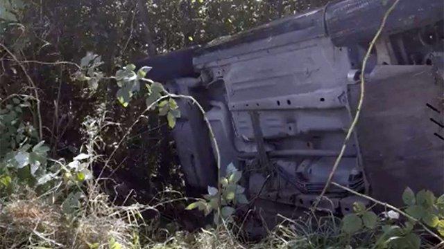 Внаслідок перекидання авто біля Львова постраждали четверо дітей