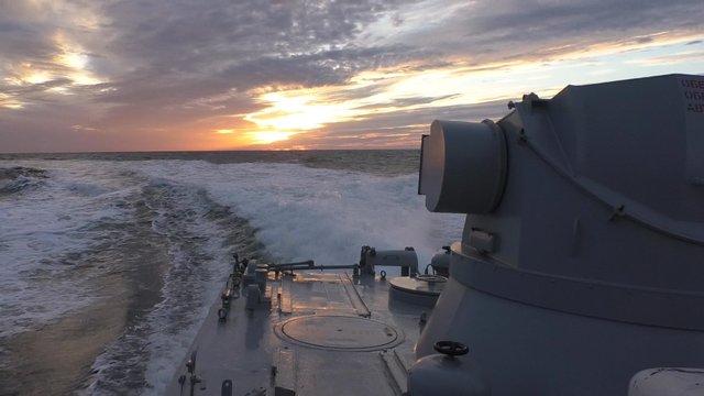 Українські ВМС провели навчання в Чорному та Азовському морях