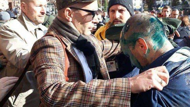 В Києві побили депутата міськради Сергія Гусовського