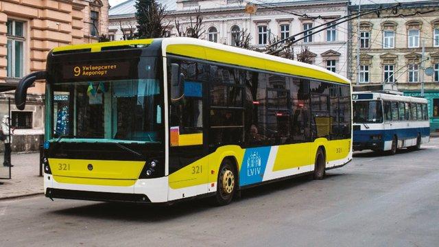 На конкурсі обрали брендування громадського транспорту Львова