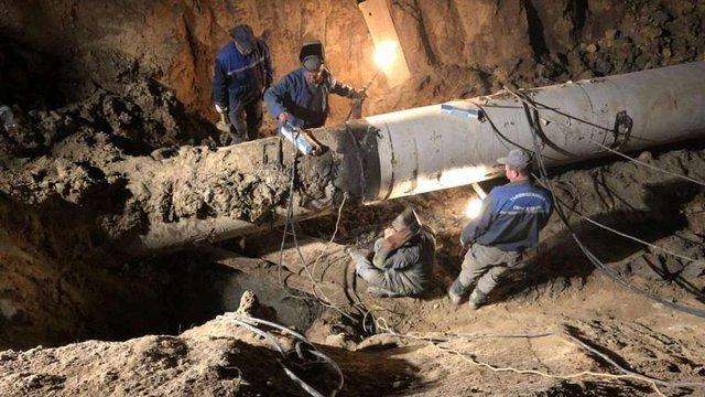 Водопостачання в Личаківському районі відновили після масштабної аварії