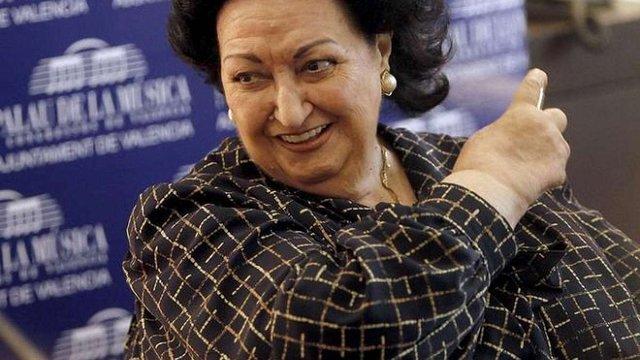 В Іспанії померла оперна співачка Монсеррат Кабальє