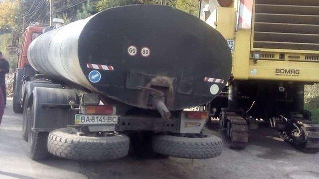 Після протестів мешканців біля Східниці розпочали ремонт дороги