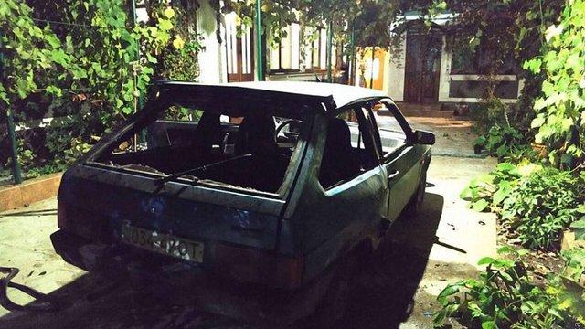 На Одещині підірвали автомобіль місцевої посадовиці