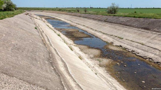 Росіяни вимагають від України 22 млн гривень за відсутність дніпровської води в Криму