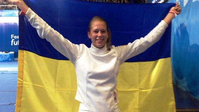 Українська фехтувальниця здобула золоту медаль Юнацьких Олімпійських ігор