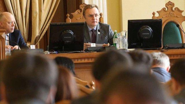 Депутати Львівської міськради запроваджують «годину запитань» до мера