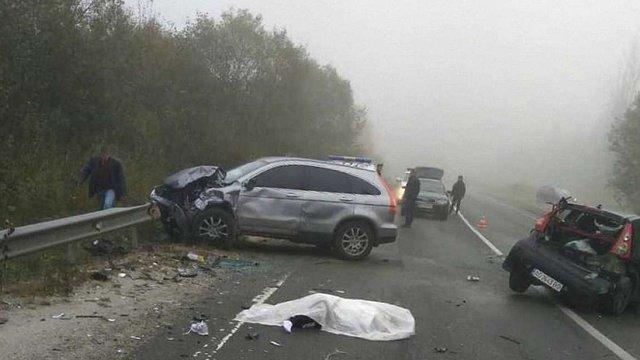 На трасі Київ-Чоп сталися дві смертельні ДТП