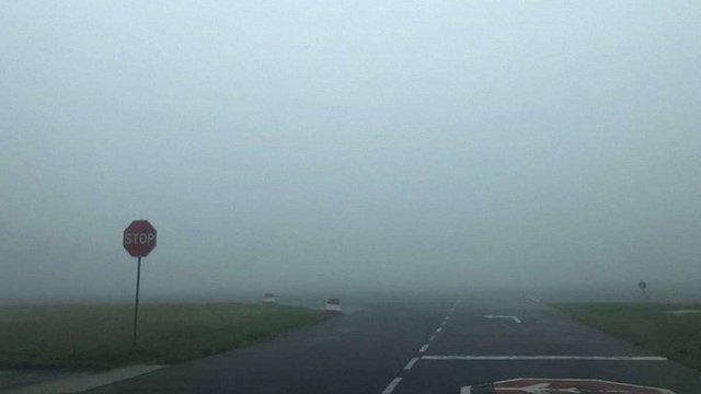 Через сильний туман у львівському аеропорту скасували три міжнародні рейси