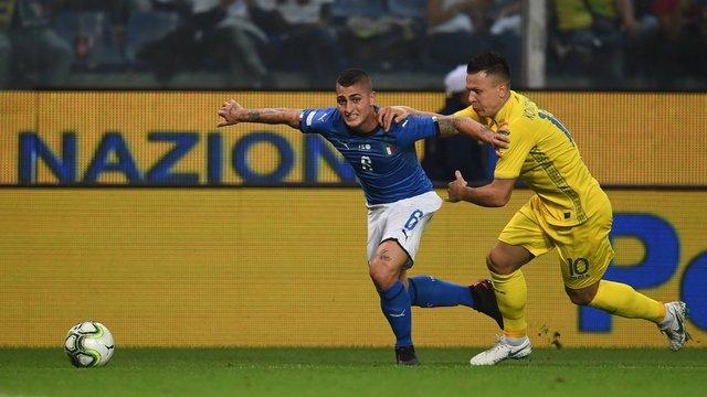 Збірні України та Італії зіграли у нічию