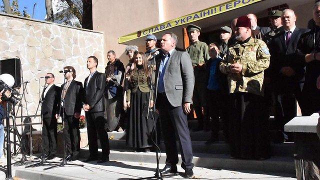 Напередодні Дня захисника України у Львові відкрили Будинок воїна