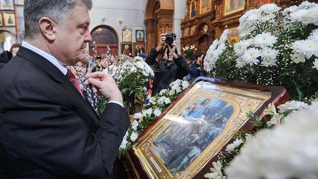 Петро Порошенко пообіцяв, що в Україні не буде державної церкви