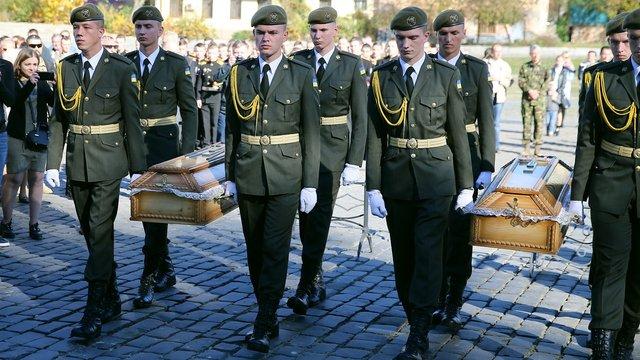 На Личаківському кладовищі перепоховали воїнів Української повстанської армії