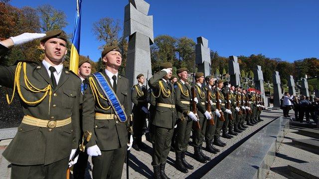 У Львові вшанували полеглих за Україну Героїв