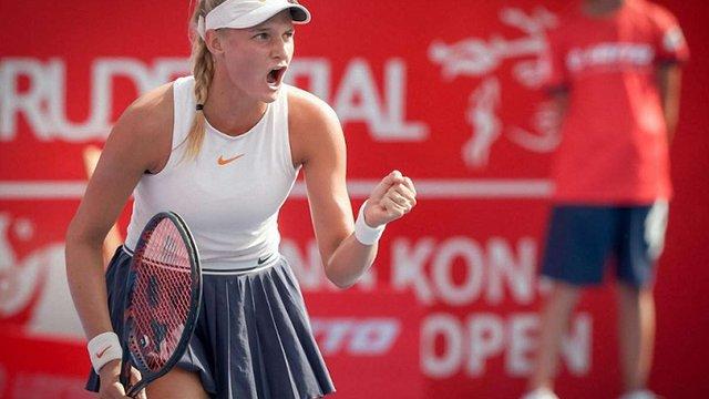 18-річна українка сенсаційно виграла тенісний турнір WTA