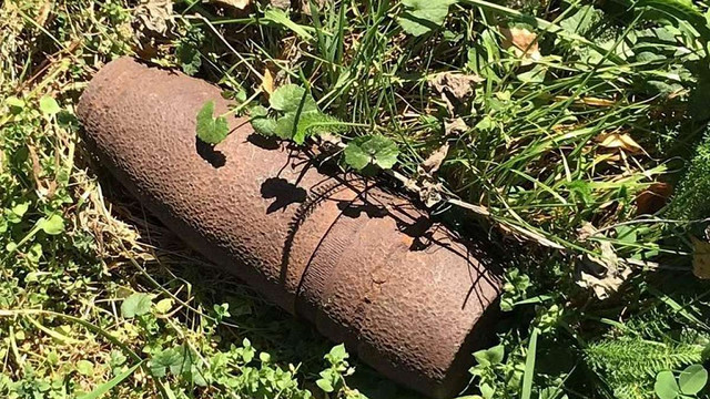 На території львівської поліклініки виявили артснаряд часів Другої світової війни
