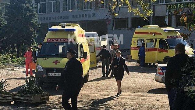 У політехнічному коледжі у Керчі стався вибух. 21 загиблий, більшість з них – учні