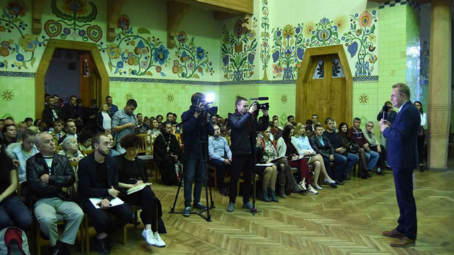 У Полтаві Андрій Садовий розповів про стратегію розвитку Львова