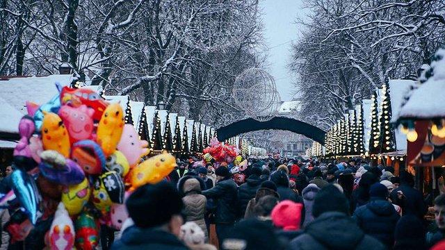 Різдвяний ярмарок працюватиме у Львові півтора місяці