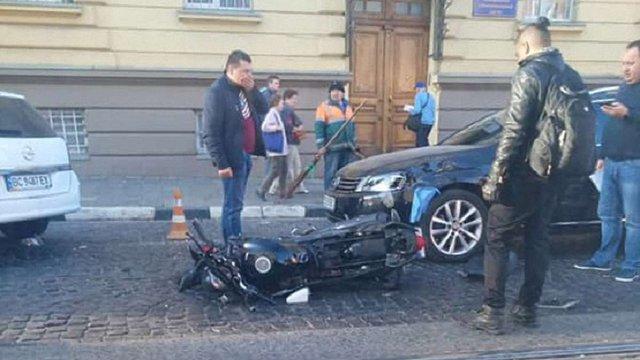 На Сокальщині у ДТП загинув водій мопеда