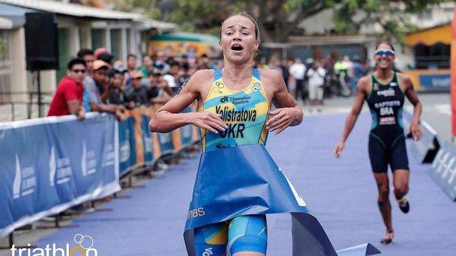 Українська легкоатлетка перемогла на етапі Кубка світу з тріатлону