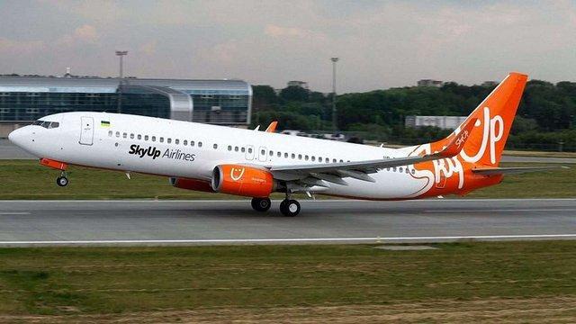 SkyUp розпочав продаж дешевих квитків на перші міжнародні рейси з України