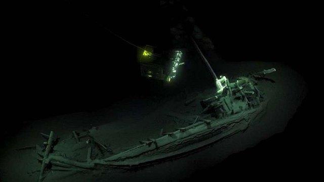 На дні Чорного моря знайшли корабель віком понад 2400 років