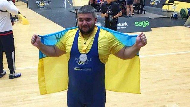 Ветеран АТО виборов срібну медаль з пауерліфтингу на Іграх нескорених