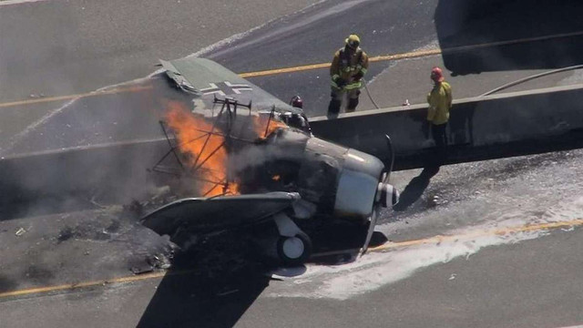 В США розбився літак з маркуванням повітряних сил Люфтваффе