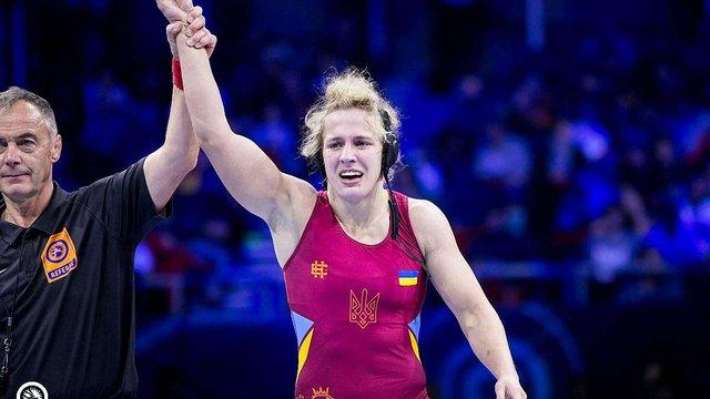Львів'янка Алла Черкасова стала чемпіонкою світу з вільної боротьби