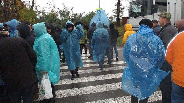Через перекриття траси Львів-Шегині поліція відкрила кримінальне провадження