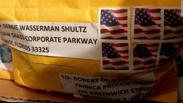 Актору Роберту Де Ніро надіслали поштою пакунок із вибухівкою