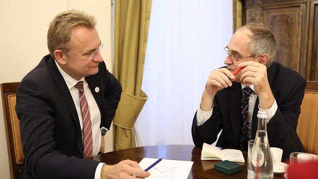Мер Львова зустрівся з віце-президентом Центру аналізу європейської політики Едвардом Лукасом