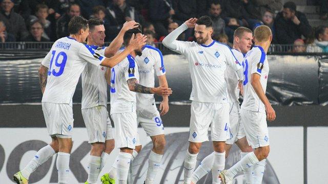 Київське «Динамо» у меншості перемогло «Ренн» у Лізі Європи