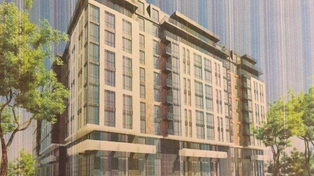 Мерія погодила будівництво на вул. Під Голоском п'яти багатоквартирних житлових будинків