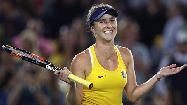 Українська тенісистка Еліна Світоліна вийшла у фінал Чемпіонату світу в Сінгапурі
