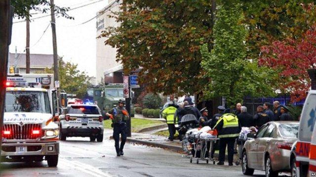 Кількість загиблих внаслідок стрілянини в синагозі Піттсбурга зросла до 11 осіб