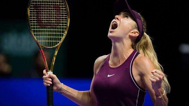 Українська тенісистка Еліна Світоліна виграла Чемпіонат світу в Сінгапурі