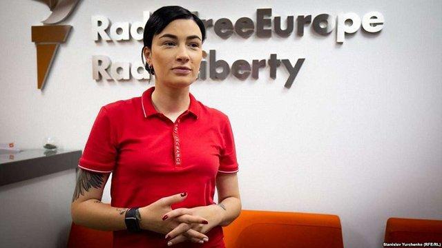 Співачка Анастасія Приходько заявила, що йде у політику в команді Юлії Тимошенко
